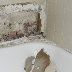 Bathtub Tile Removal