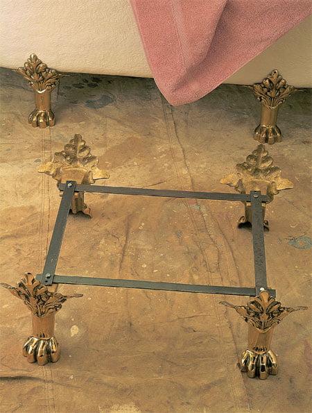 Clawfoot Bathtub Replacement Feet Ideas