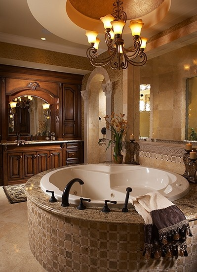 elegant bathtub