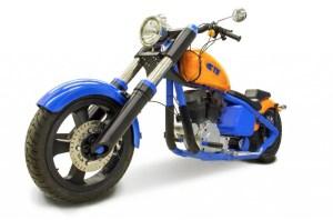 TE-Motorbike 3d printed