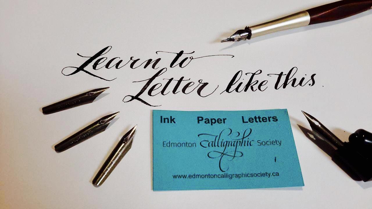 ECS…A Calligraphy Write Nite