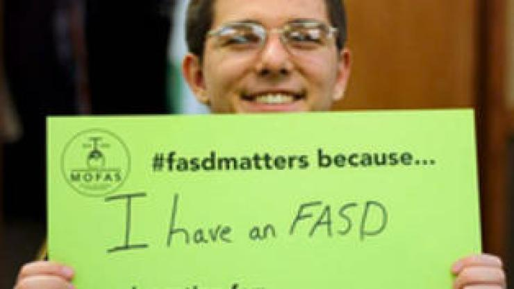 Teen lobbies for FASD