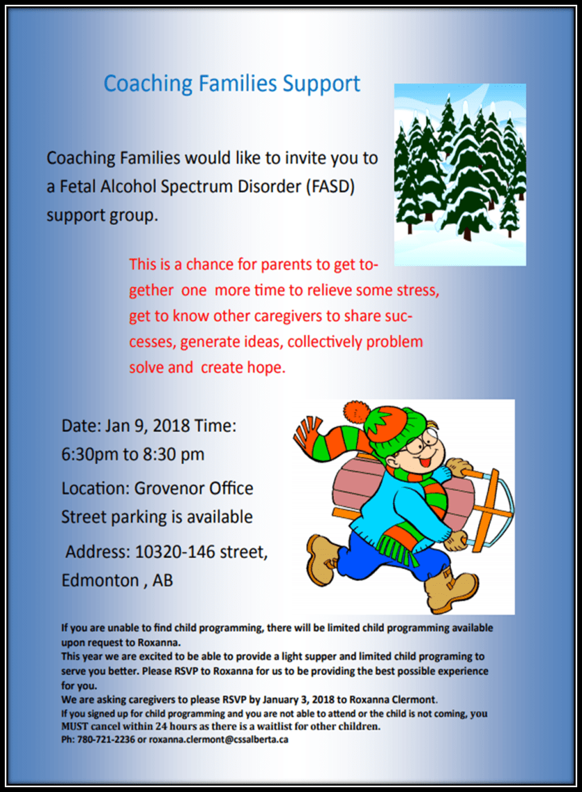 January Support Group