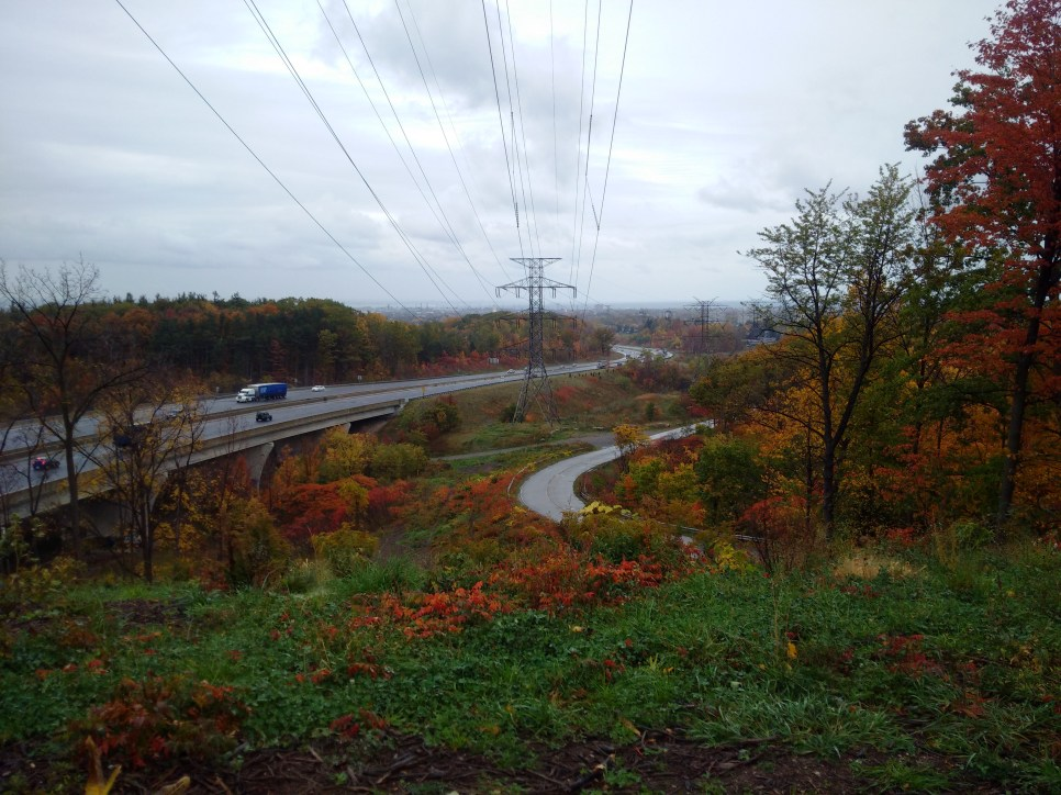 The Red Hill Valley Parkway in Hamilton, Ontario built overtop of 22 known historic use sites.