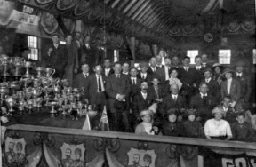 Trophy Table, 1910 show
