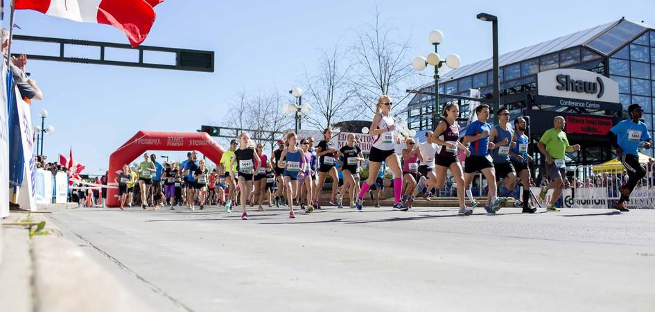 Servus Edmonton Marathon Edmonton Tourism