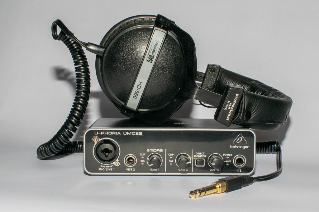 interface audio U-Phoria