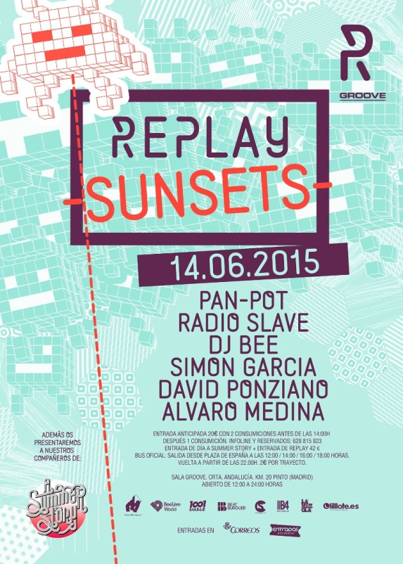 replay-sunset REPLAY SUNSET + FIESTA DE A SUMMER STORY
