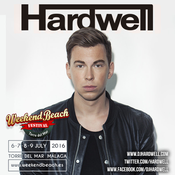 hardwell-weekend-beach-festival-2016-EDMred Hardwell confirmado en Weekend Beach Festival