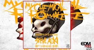my-chemical-romance-welcome-to-the-black-parade-steve-aoki-10th-anniversary-remix-edmred