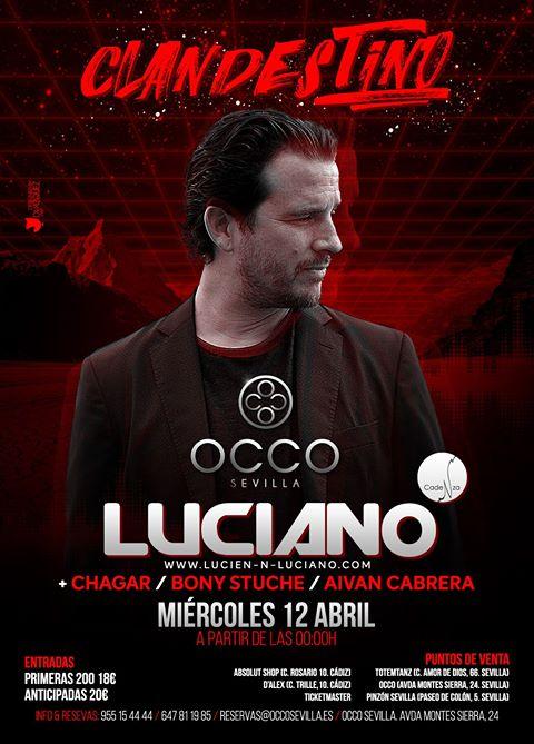 luciano-occo-sevilla-EDMred Luciano actuará por primera vez en Sevilla