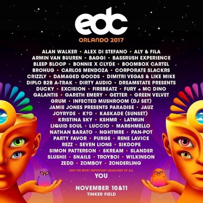EDC-orlando-lineup Diplo B2B A-Trak, la gran apuesta de EDC Orlando