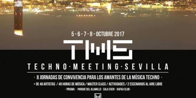 Techno Meeting Sevilla ya tiene cartel completo