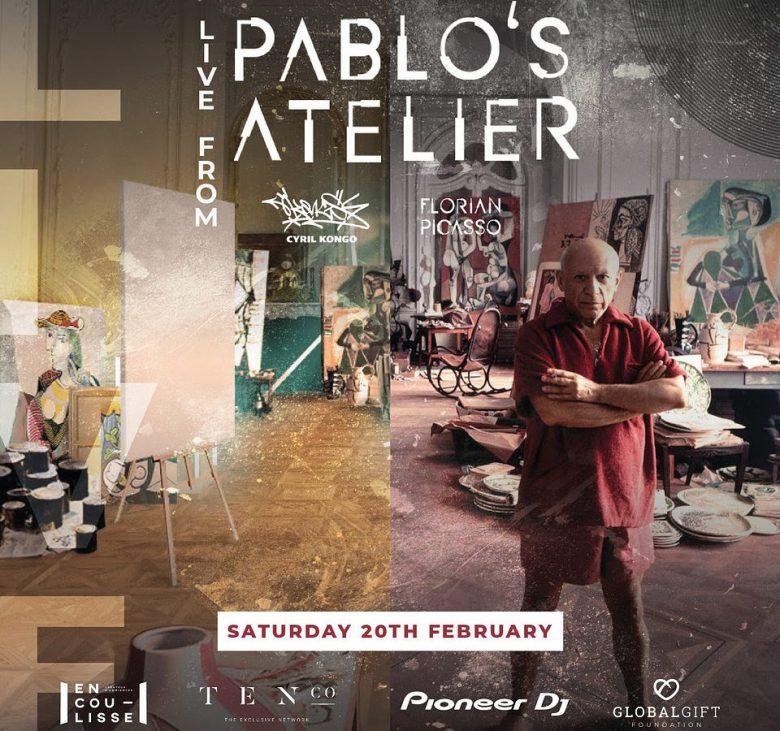 Florian Picasso  Pablo's atelier ile ilgili görsel sonucu