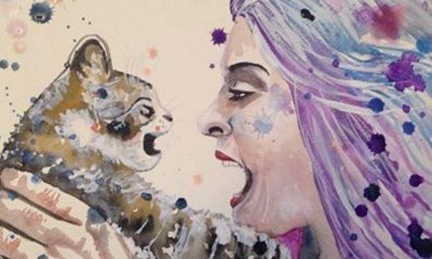 Marcia & cat