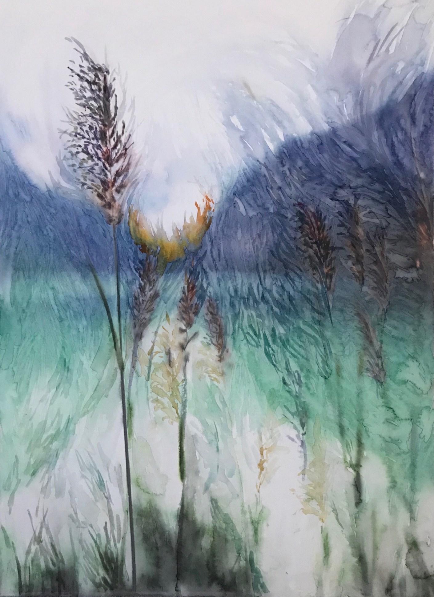 pampas grass landscape 5_aquarela em papel 26X37_Edna Carla Stradioto_2019