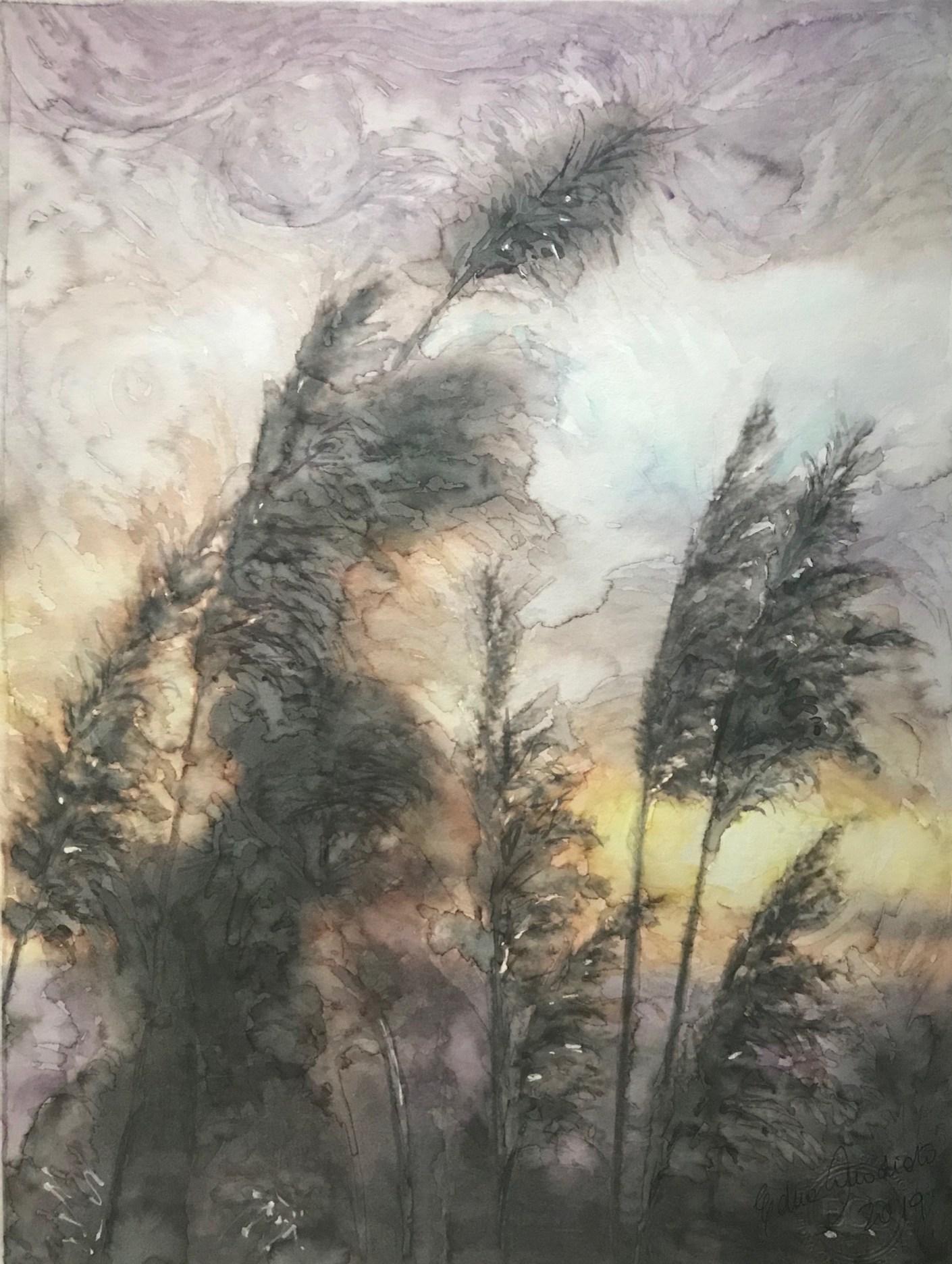 pampasgrass sunsire_aquarela em papel 26X37_Edna Carla Stradioto_2019