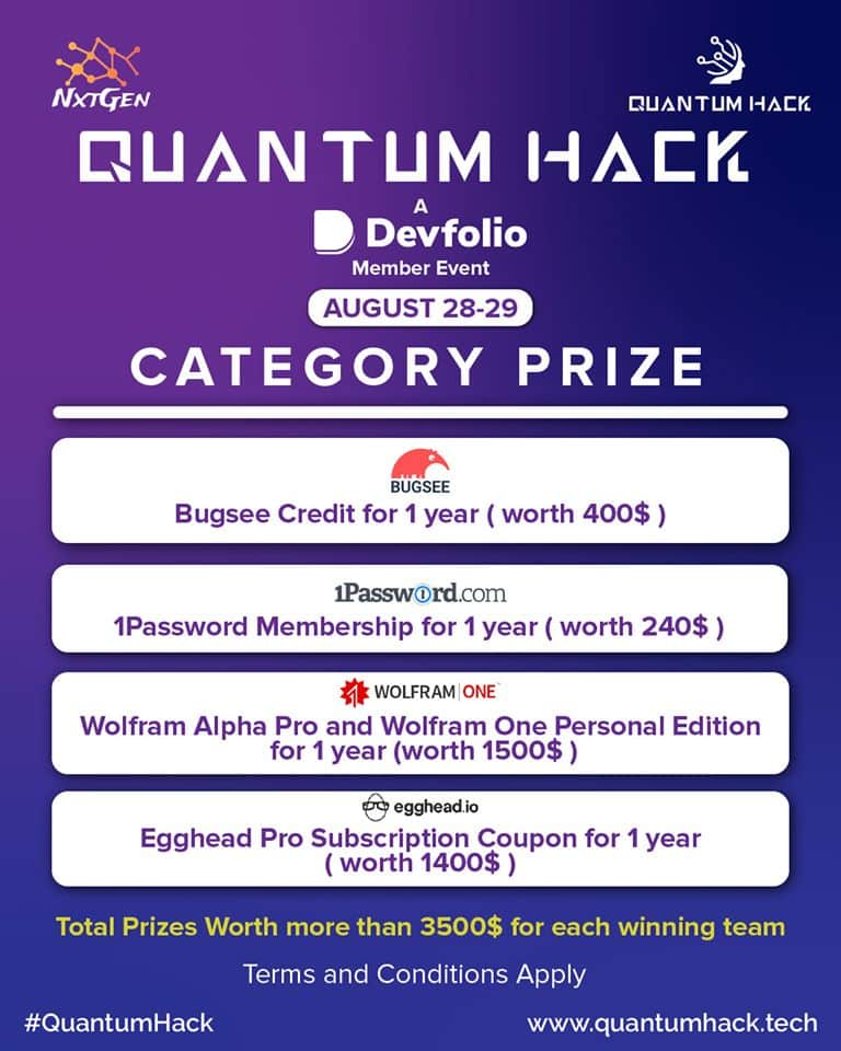 Quantum Hack Prize Pool