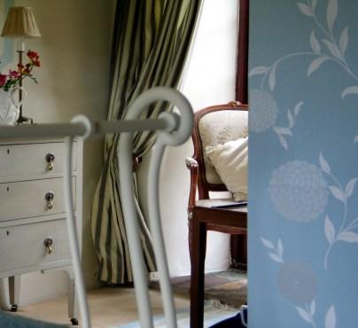 A bedroom detail