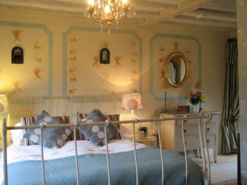 The Apricot Bedroom