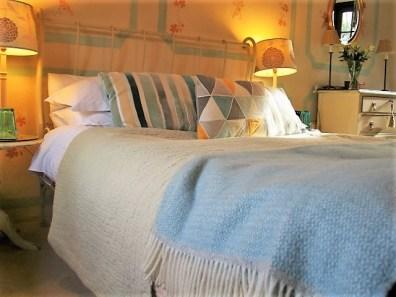 cosy bedroom for luxury B&B