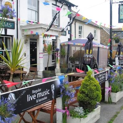 The Trevelyan a village pub in Goldsithney