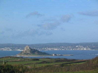 Mounts bay from Ednovean Farm