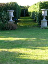 The Italian garden entrance