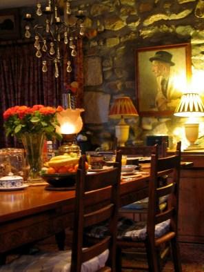 Ednovean Farm dining room