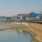 Seaside promenade in Penzance