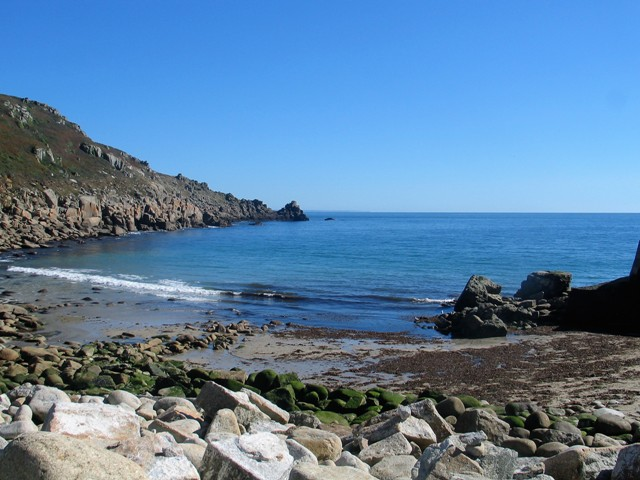 A destiantion of the Penwith Tour - Cornish cove - Lamorna