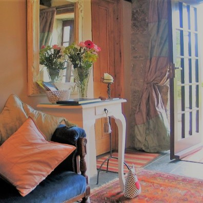 vintage style sitting room