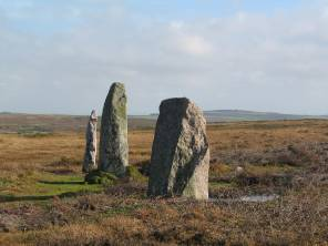 Part of the Nine Maidens stone circle