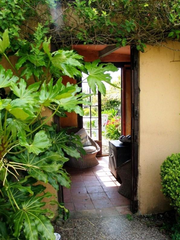 A garden room at Ednovean Farm