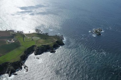 Aerial view of Land's End