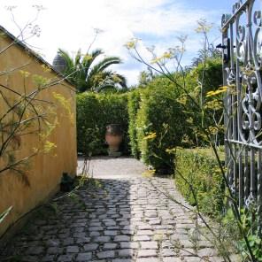 Granite set path