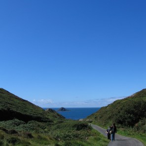 Lane to a cove