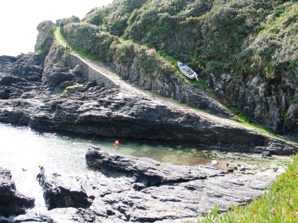 across Prussia Cove