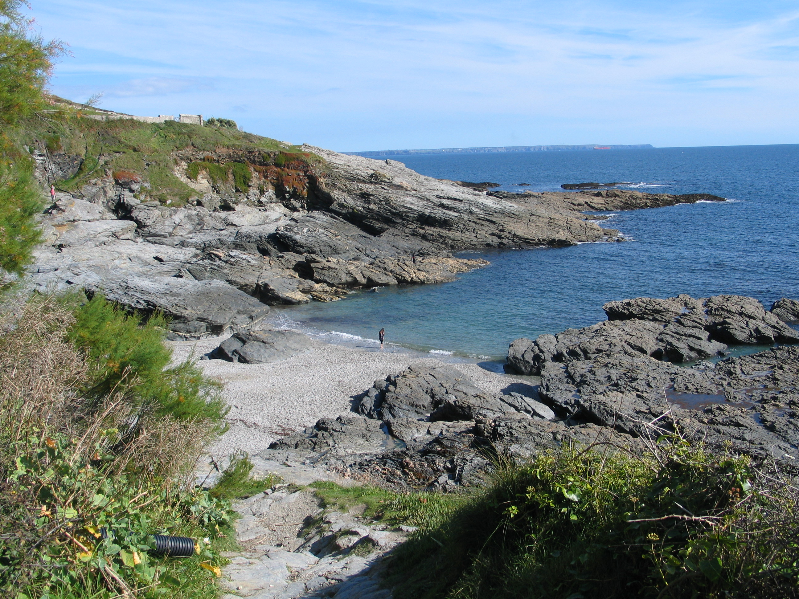 Prussia Cove with the Lizard