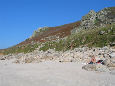 Sennen cove where heathland meets the sea