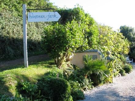 Ednovean Farm entrance