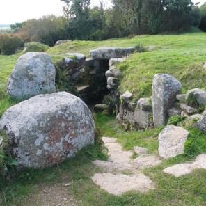 granite paving near the fogou