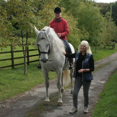 Pre Stallion with classical trainer