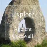 ancient cornwall - holed healing stone