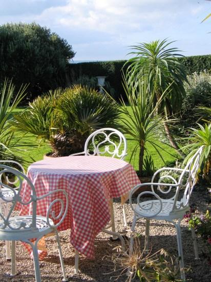 We still stop for tea int he garden
