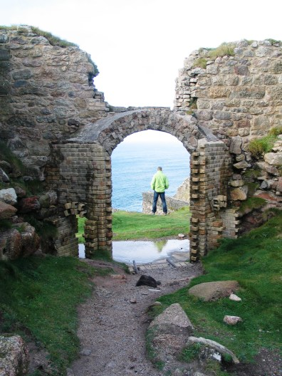 Botallack archway to the sea