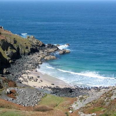 As we circled the cove more of the sands (sometimes lost in winter storms) came into view