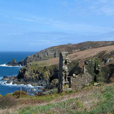 Carnellow Point walking the coastal footpath West Cornwall