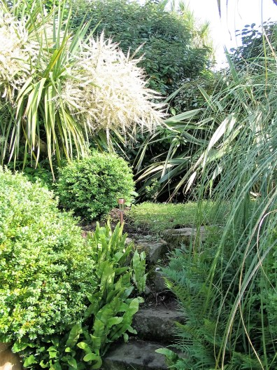 Informal Garden steps