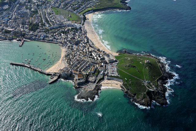 Beaches around the Island at St Ives